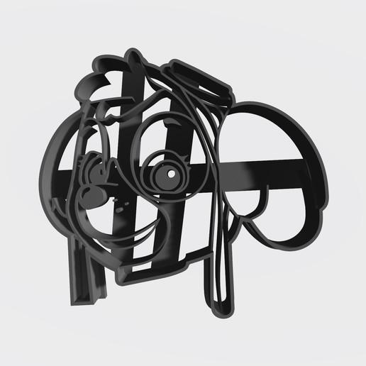 Skye.jpg Télécharger fichier STL gratuit Pack patrouille de patrouilles x 5 + logo - Coupe-cookie • Design imprimable en 3D, Taladrodesing