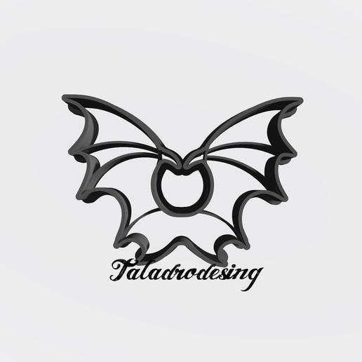 Télécharger fichier 3D gratuit Hélas Malefica - ailes Maleficien / coupe-biscuit - Coupe-biscuit, Taladrodesing