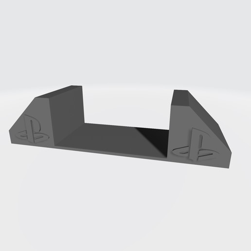 Download free STL file Support for ps2 fat - Support for ps2 FAT v1 • 3D printing template, Taladrodesing