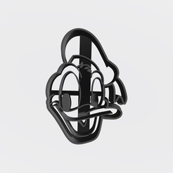 Download free STL file Donald Duck - Donal Duck / Cookie cutter, cookie cutter • 3D printer object, Taladrodesing