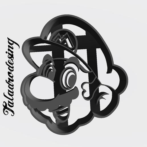 Télécharger fichier impression 3D gratuit Mario Bros head (Face) - Coupeur de biscuits, Taladrodesing