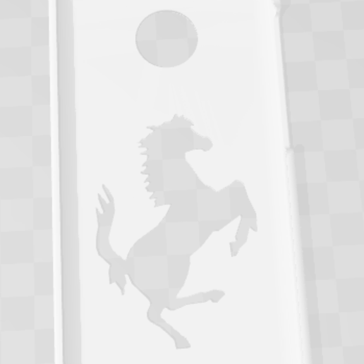 Download free STL Case Xiaomi Redmi 4x Ferrari, Taladrodesing