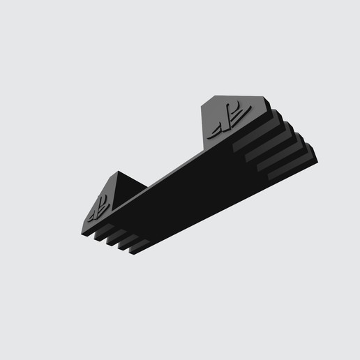 Download free STL file Support for ps2 fat - Support for ps2 FAT v2 • 3D printable template, Taladrodesing