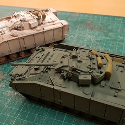 Descargar modelos 3D FV510 Guerrero Tanque Militar IFV, vc10cmk1