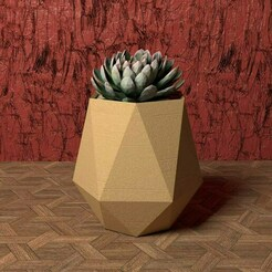 hexagon vase (tall version).jpg Download STL file GEOMETRIC HEXAGON VASE (TALL VERSION) • 3D printer object, BUGA