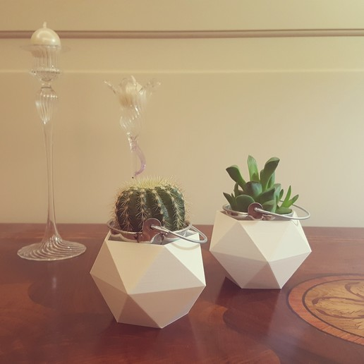 foto vasi.jpg Download STL file Geometric Vase • 3D printable object, BUGA