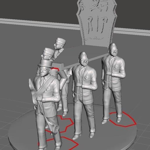 Télécharger plan imprimante 3D Support de téléphone portable pour la danse du cercueil, jgibajac