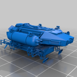 Download free 3D model EA - Skydancer Scouting Shuttle, BadHaircut