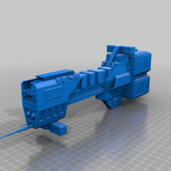 Download free 3D printer designs Sagittarius Class Missile Destroyer, BadHaircut
