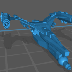 Impresiones 3D gratis Harrier de Furia Estelar, BadHaircut