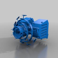 Raider_Carrier_Scale.png Download free STL file Raider Strike Carrier • 3D printer model, BadHaircut