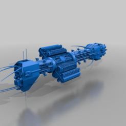 Omega-X_original.png Download free STL file Advanced Omega-X class Destroyer • 3D printable model, BadHaircut
