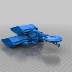 EA_Freighter_cel.png Download free STL file Saturn 3 Civilian Transport • 3D printing template, BadHaircut
