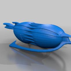drakhtanker_update.png Download free STL file Drakh Tanker/Plague ship • 3D printer object, BadHaircut