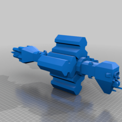 Command_Omega_full.png Download free OBJ file EA - Command Variant Omega Class Destroyer • 3D printer template, BadHaircut