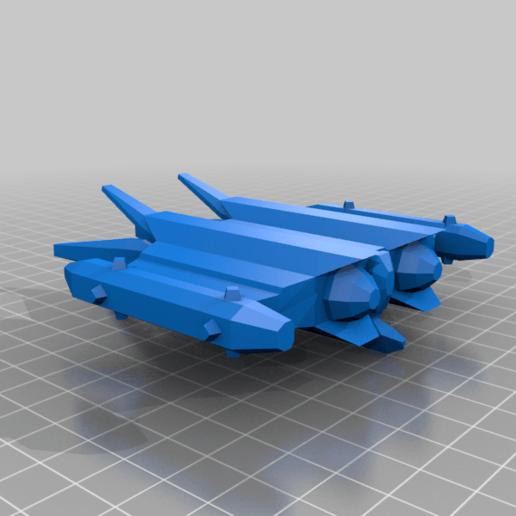 Télécharger fichier STL gratuit EA - Aries Starfury • Design à imprimer en 3D, BadHaircut