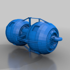 maintenance_pod_simple.png Download free STL file EA - Maintenance Pod • Design to 3D print, BadHaircut