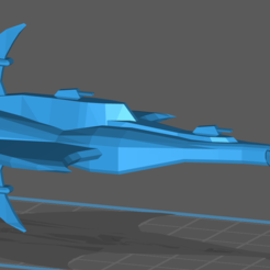 Capture.PNG Download free OBJ file Centauri Sulust Class Destroyer • 3D printing model, BadHaircut
