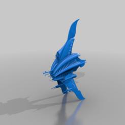Descargar modelo 3D gratis Crucero de Guerra Minbari Sharlin (2 versiones), BadHaircut