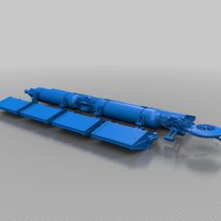 Saturn_C8.png Download free STL file Saturn 8 Civilian Transport • 3D printing object, BadHaircut