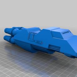 Descargar diseños 3D gratis El transbordador Zathras, BadHaircut