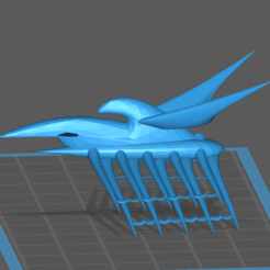 Capture.PNG Download free STL file Shadow EA Hybrid Destroyer • 3D print object, BadHaircut