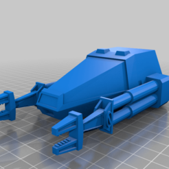 cargopod_larger_arms.png Download free STL file Cargo Pod - Zero-G Loader • 3D printing design, BadHaircut