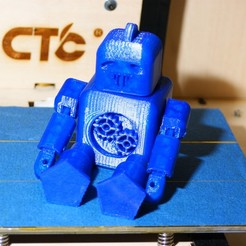 Download free 3D printer templates Jointed Cogbot, simonwright30sw