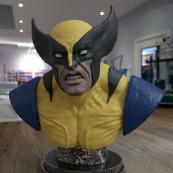 Download STL files Wolverine, garudagr