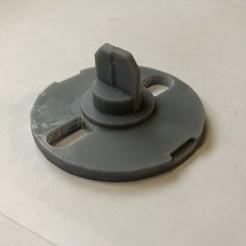 Imprimir en 3D gratis Guía de botones para la lavadora Vedette EG-6001, model78