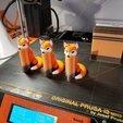 Descargar diseños 3D Fox multi color material (MMU listo), NerdBrez