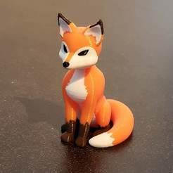 Download 3D printer templates Fox multi material color (MMU ready), NerdBrez