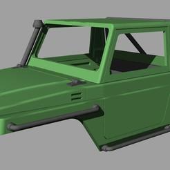Download 3D printer designs Suzuki Samurai - Nele Racing - RC 1/10 scale crawler body, rcnele