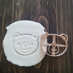 Télécharger fichier STL gratuit Emporte-pièce Ours Brun • Design pour imprimante 3D, EnvyCrea