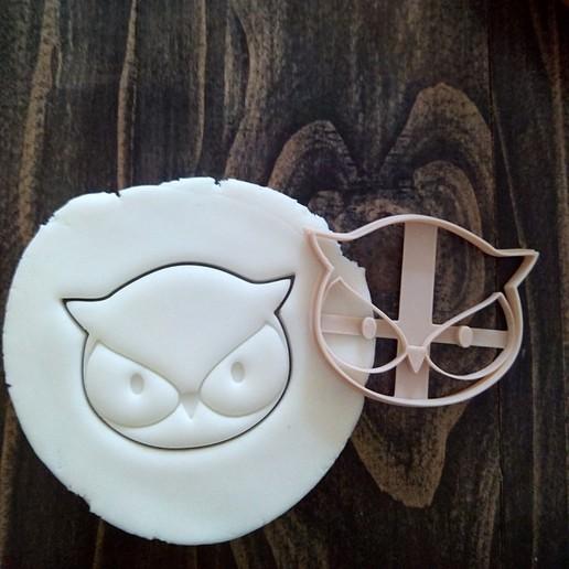 Download free STL file Punch Owl • 3D printable design, EnvyCrea