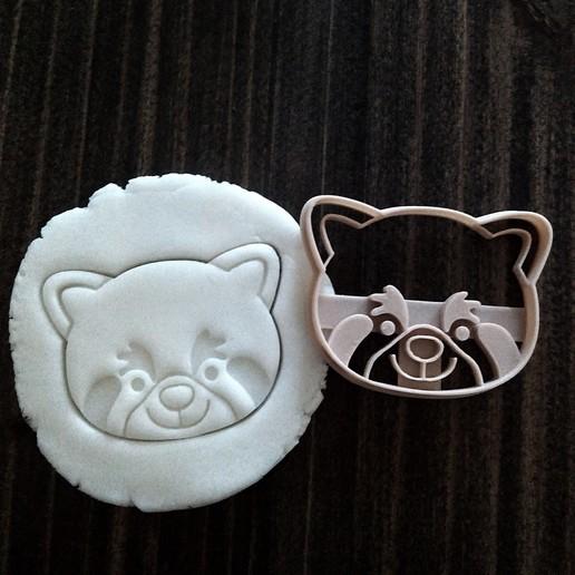 Download 3D printer templates Panda Punch Red, EnvyCrea