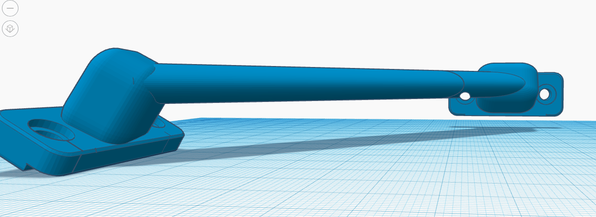 Captura de pantalla 2020-01-02 a las 22.55.46.png Download free STL file Stabilizer SupportDelta Anycubic Kossel • Object to 3D print, desmojorge