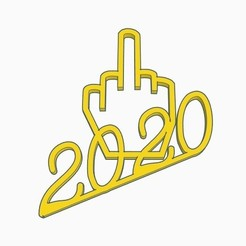 the finger 2020 pic 1.jpg Download STL file The Finger 2020 • 3D printing template, joe_lepack