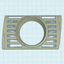 Download free 3D printer files Audi A5 Drivers side air vent gauge pod, joe_lepack