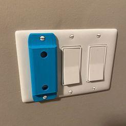 Imprimir en 3D gratis Interruptor de la luz Bloqueo del tipo balancín, joe_lepack