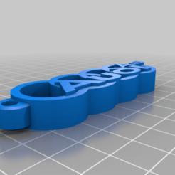 Descargar Modelos 3D para imprimir gratis Llavero del Audi A6, joe_lepack
