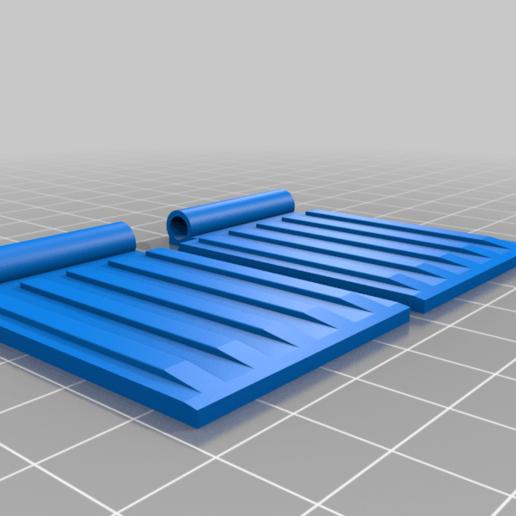 Télécharger fichier STL gratuit Benne à ordures avec couvercles • Plan pour imprimante 3D, joe_lepack
