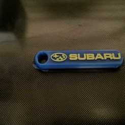 Télécharger fichier STL gratuit Porte-clés Subaru • Design à imprimer en 3D, joe_lepack