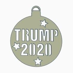 pic 2.jpg Télécharger fichier STL L'ornement de Noël de Trump 2020 • Modèle pour impression 3D, joe_lepack