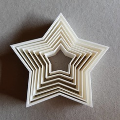 Download 3MF file Star Cookies • Object to 3D print, 3Leones