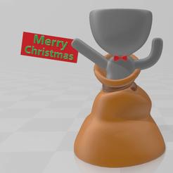 3.png Télécharger fichier STL Pot de Noël Robert • Modèle pour imprimante 3D, 3Leones