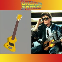 Download 3D printing designs Chiquita Guitar Martin, 3Leones