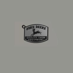 Télécharger fichier STL Porte-clé John Deere • Design imprimable en 3D, 3Leones
