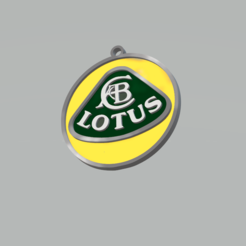 Sin título.png Download STL file Lotus Keychain • Object to 3D print, 3Leones