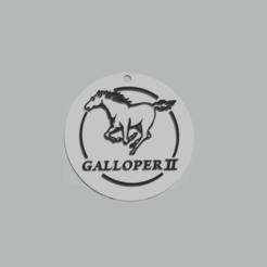 llavero galloper.png Télécharger fichier 3MF Porte-clés Hyundai Galloper • Objet pour imprimante 3D, 3Leones